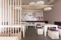 Zendo Sushibar, Darmstadt | Design in Architektur